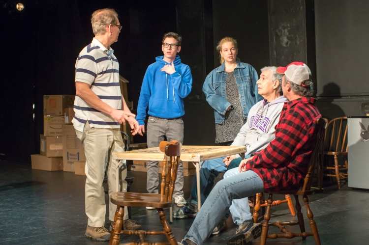 The Boys in the Basement, our fall, 2016 production, played to near sold-out houses.