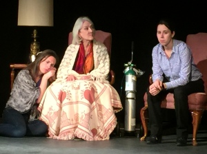 Becca Russo, Julie Mitre and Christine O'Keef star in The Last Days of Wonder.