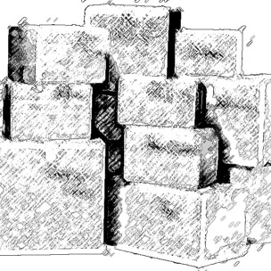 boxes charcoal